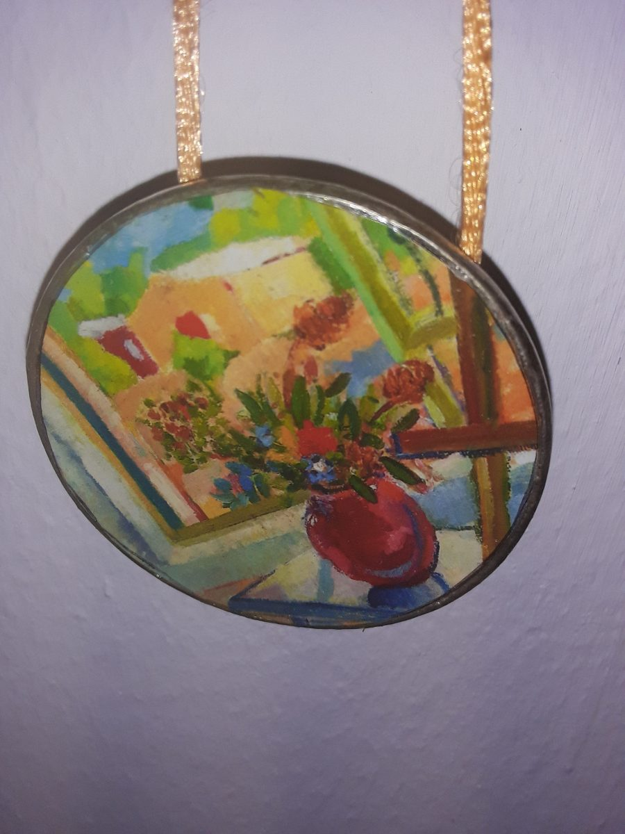 Hand Painted Pendants