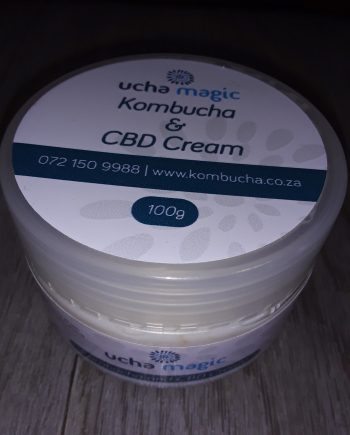 Ucha Magic, Kombucha and CBD Cream by Eva